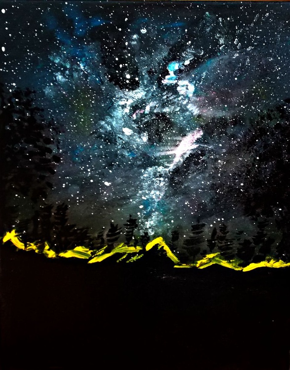Galaxy promenade - GLOWING IN THE DARK - Image 0