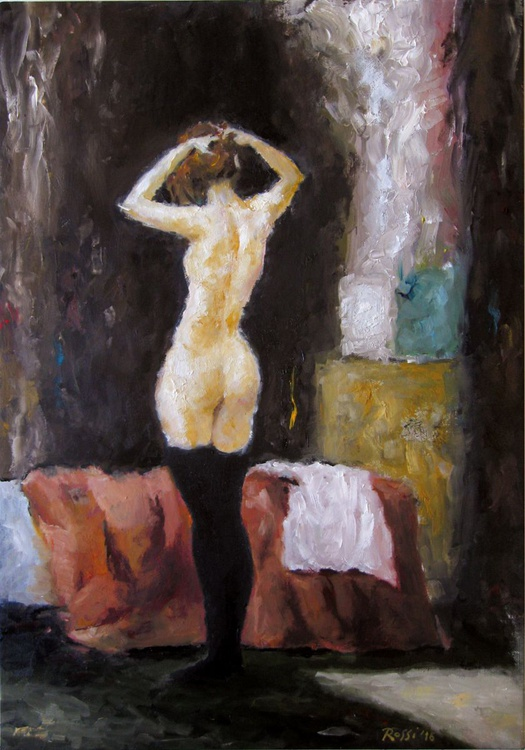 Nude in the Bedroom - Image 0