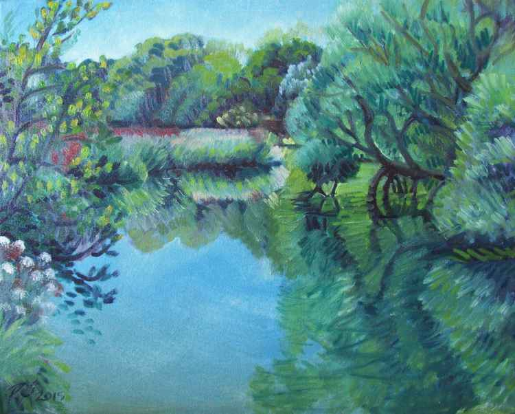 Mill Pond, Barcombe