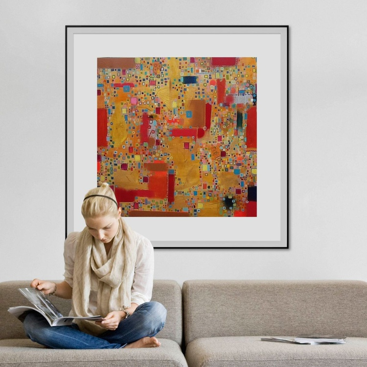Eastern Promise (100x100cm) special offer - Image 0