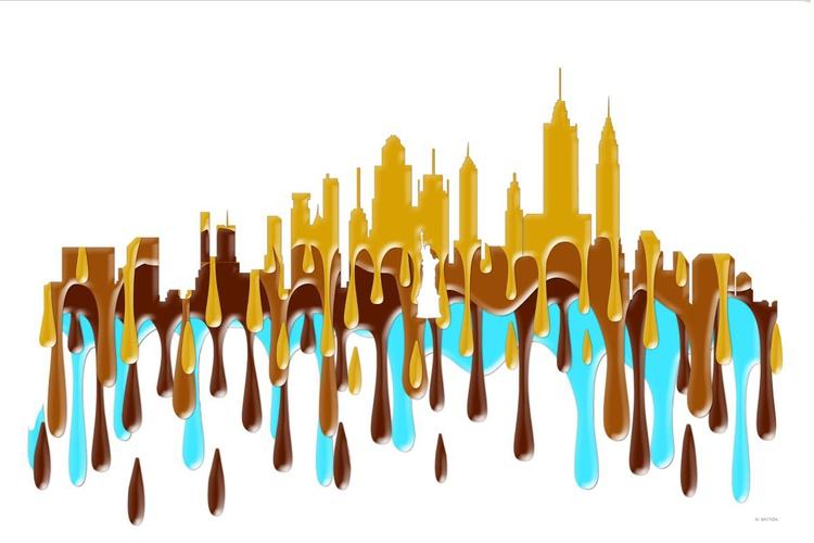 New York City, New York Skyline YBB - Image 0