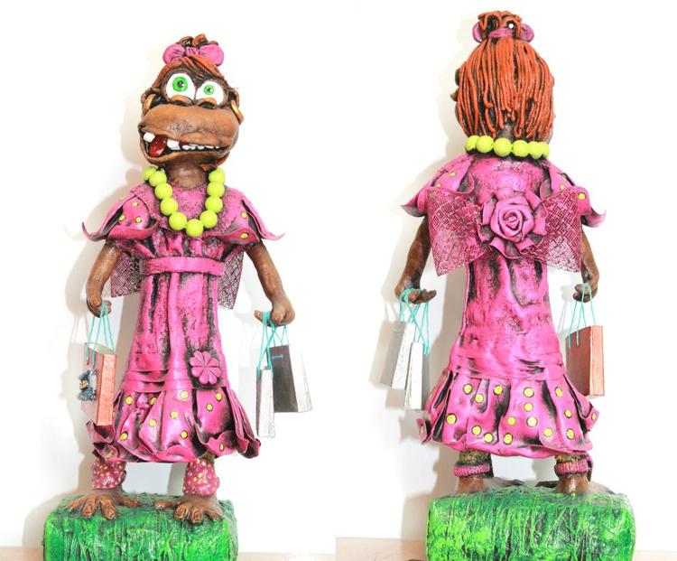"Sculpture ""Monkey"" - Image 0"