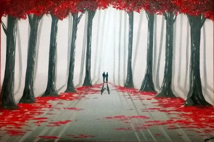 Romantic Walk Through The Woods 4 - Image 0