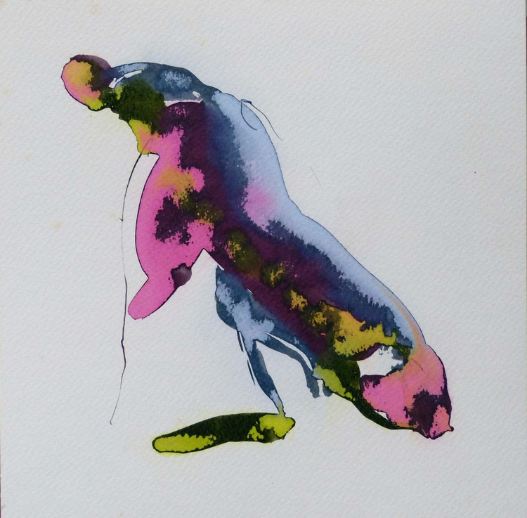 Cicada 2, 24x24 cm - Image 0