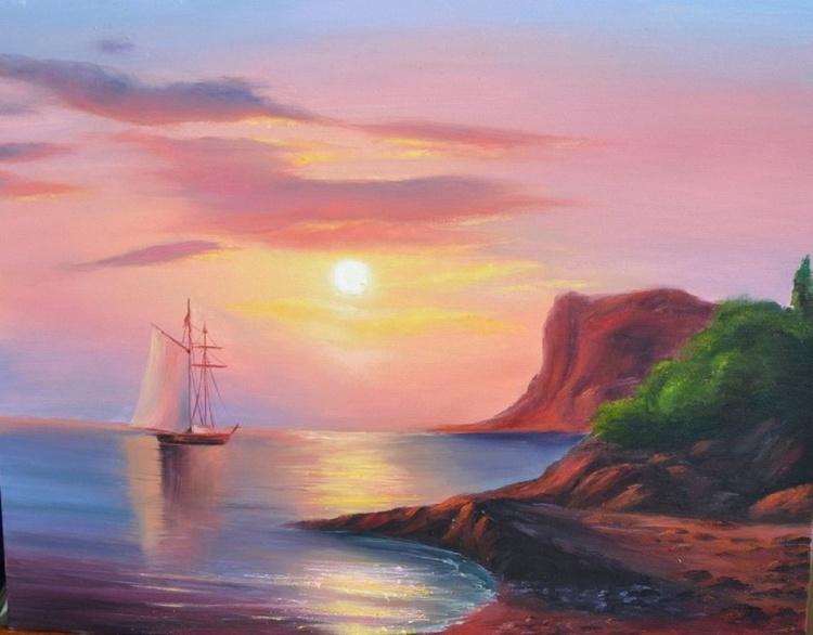 Red sea sunset - Image 0