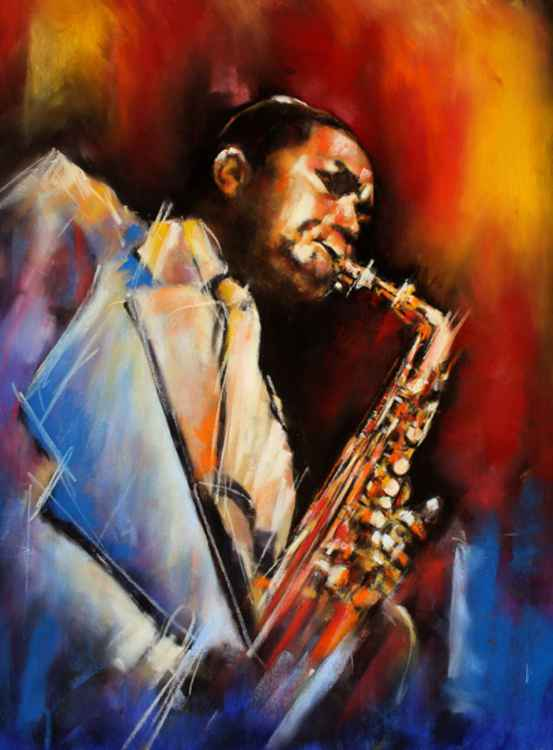 Sax Player -