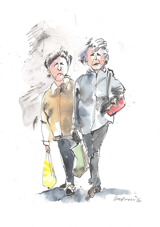 The Shopper's March - Image 0