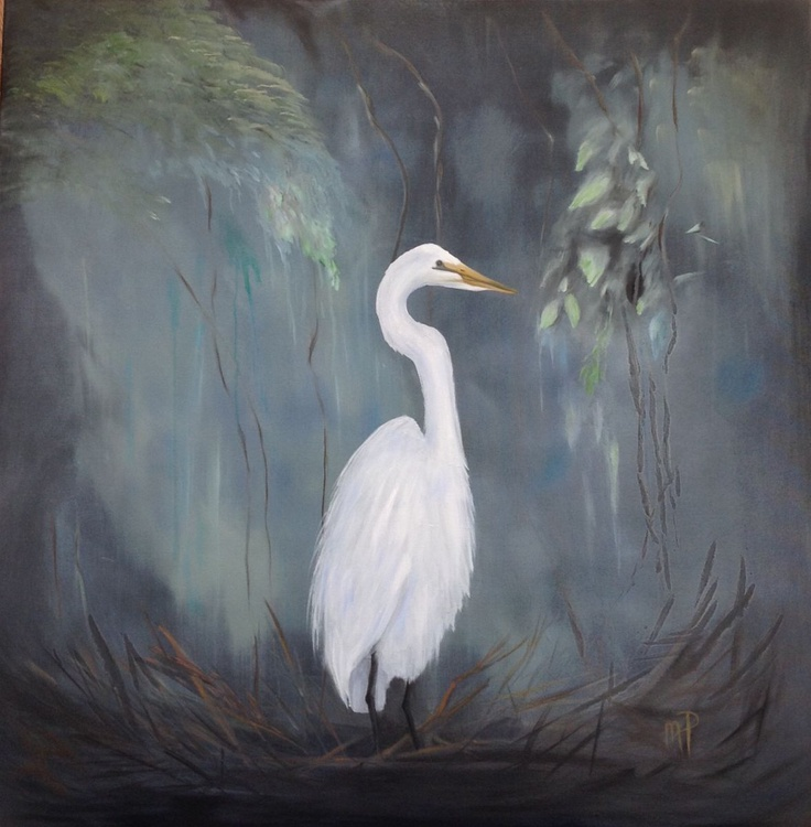 Nesting Egret - Image 0
