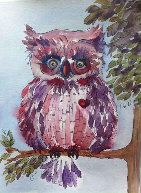 Boop Woot Owl -