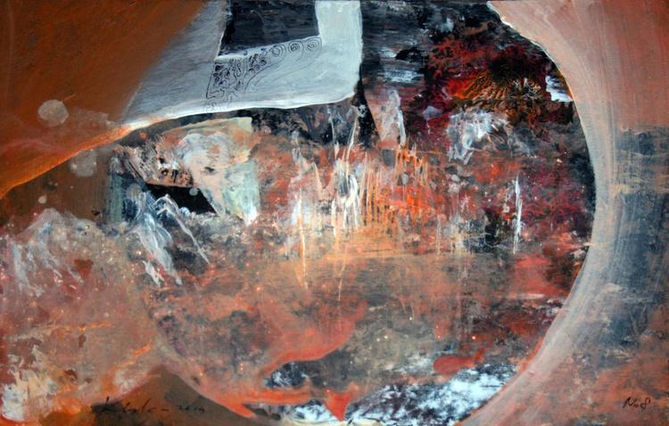 SUPERBE FANTASTIC DREAMSCAPE BY MASTER KLOSKA TREASURE ART COTATION RISING - Image 0