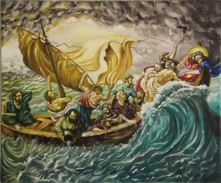 Reproduction of a BIBLICAL SCENE (Commissioned Artwork) - Image 0