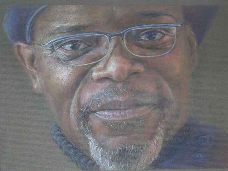 Portrait of Samuel L Jackson