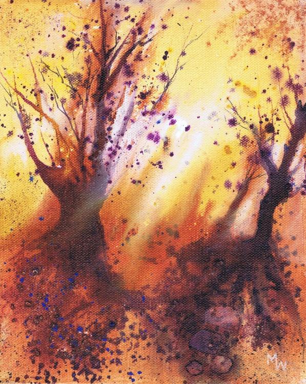 Morning Light Through Autumn Trees II - Image 0