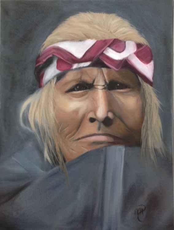 Apache Indian circa 1908