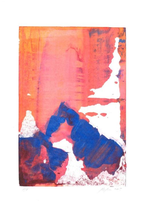 Sunset Mountains I - Image 0