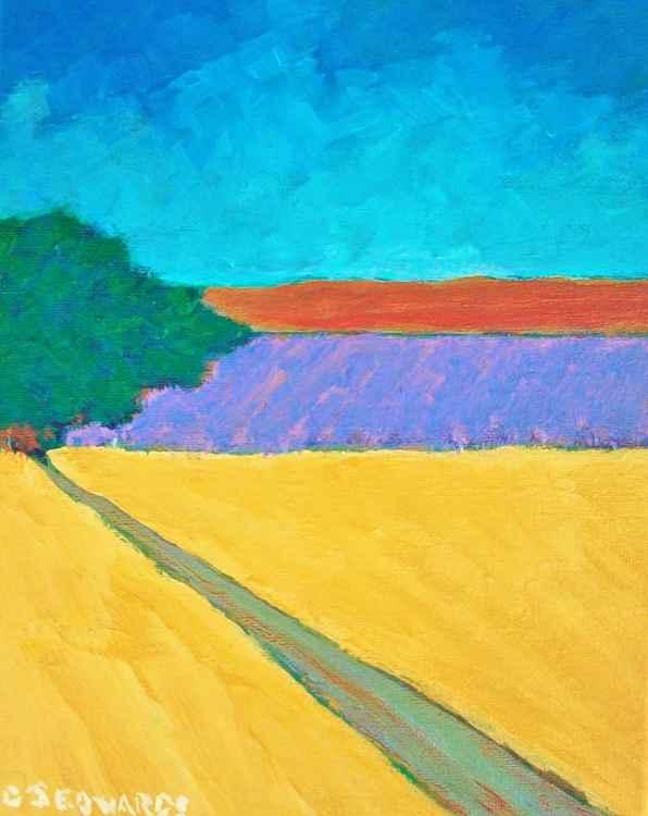 Distant Lavender -