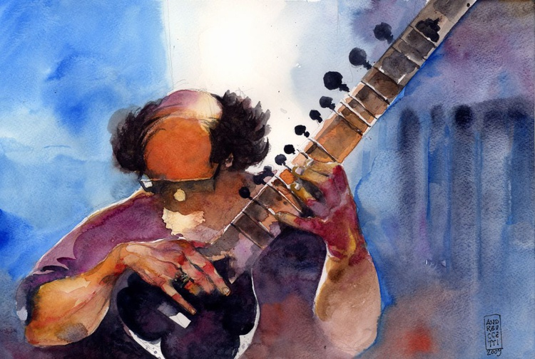 The sitar player - Image 0