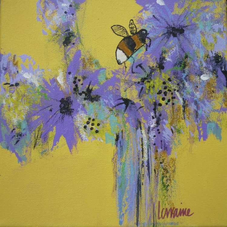 Adventures of a bee in a French Florist Shop II - Image 0