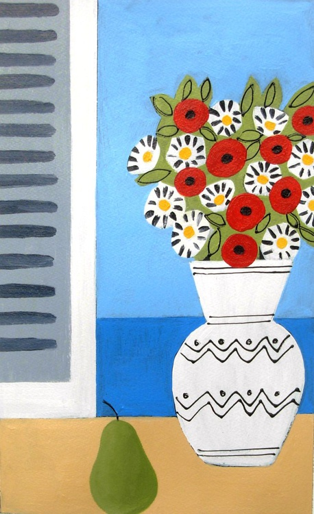 Flowers in front of the Window - Image 0