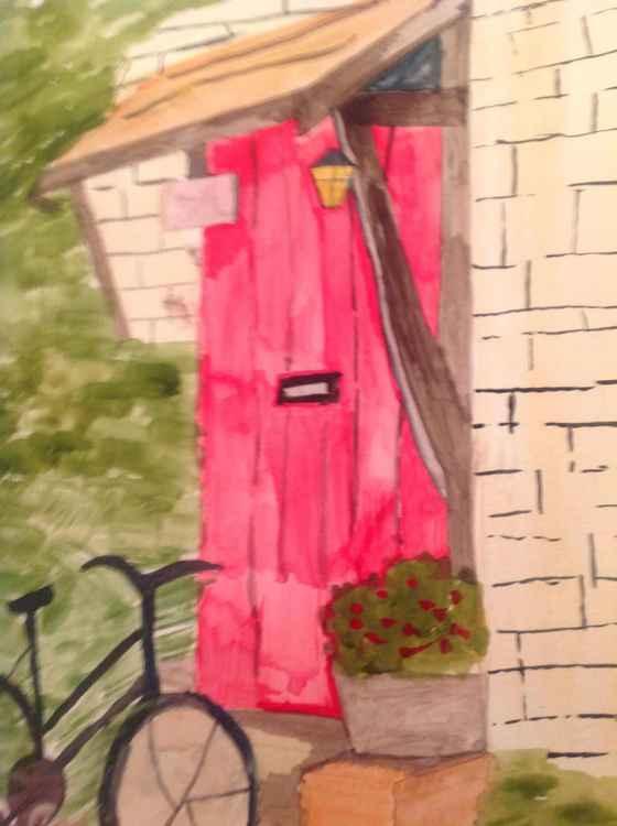 The red door -