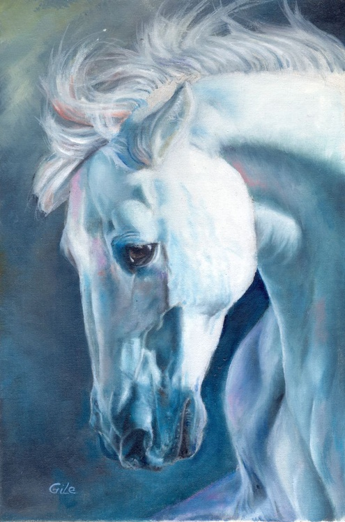 White horse nO1 - Image 0