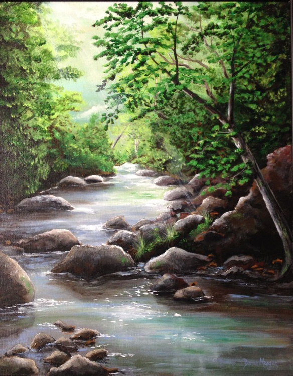Smoky Mountain Stream - Image 0