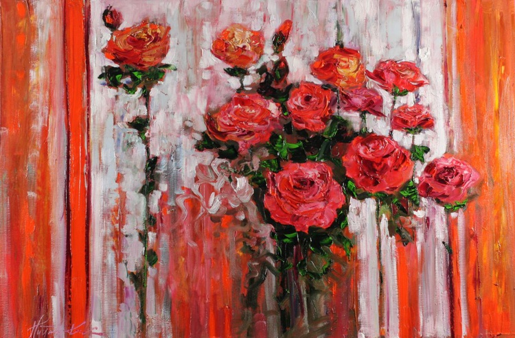 Theme with roses - Image 0