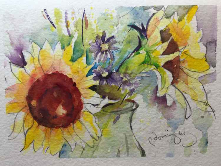 Sunflower Fun -