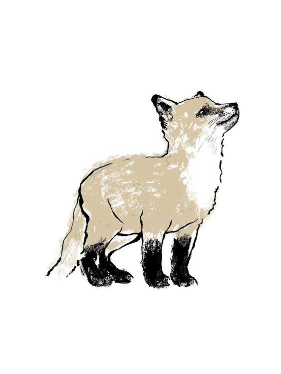 Gold Fox Cub II - Image 0