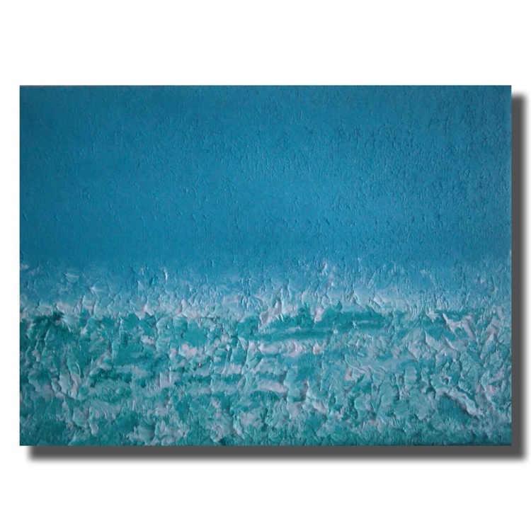 Morning blue (miniature) - Image 0