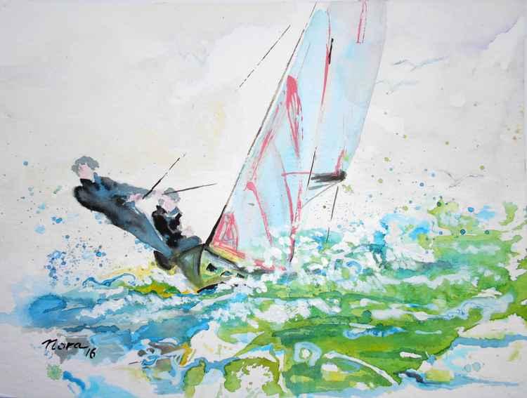 Yacht racing II -