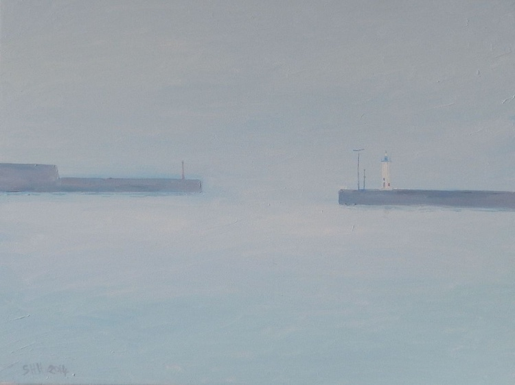 Anstruther Harbour In The Mist - Image 0