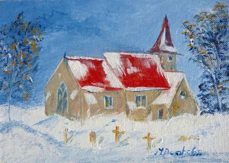 Snow at the Church -