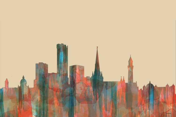 Birmingham, England Skyline - Navaho -