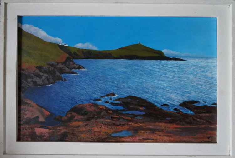 Cape Cornwall from Porth Ledden. -