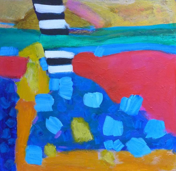 "Zebra Crossing 24"" x 24""/61 x 61 cm - Image 0"