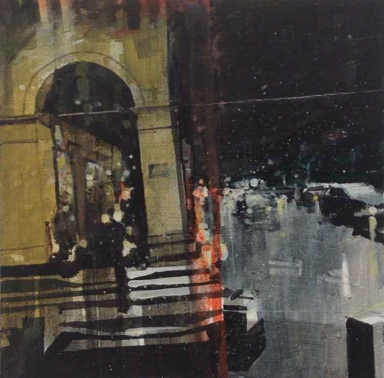 Rue de Rivoli, near Concorde Metro, 19 Feb -
