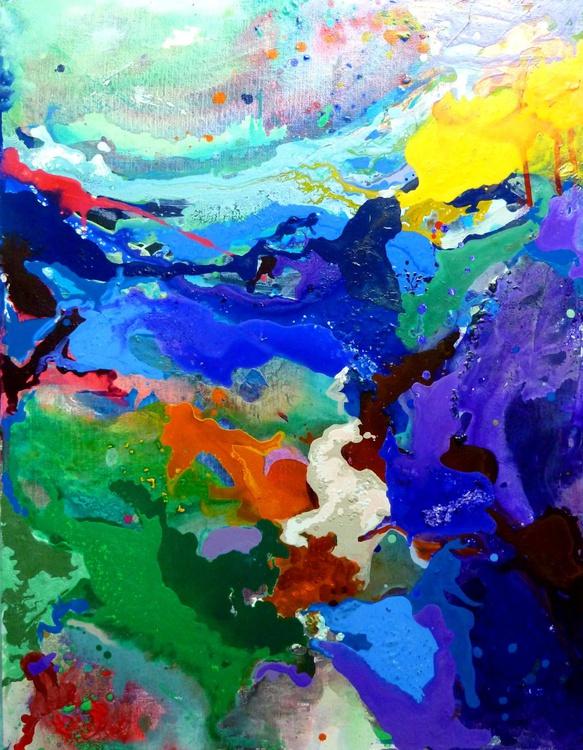 landscape, 90x70 cm - Image 0