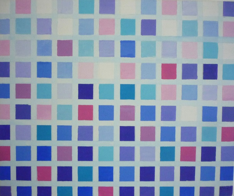 Pattern in purple 1 - Image 0