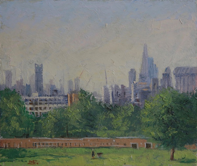 View of London from Brockwell Park - Image 0