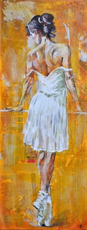 Ballerina -Long Deep Edge Canvas Ready To Hang - Image 0
