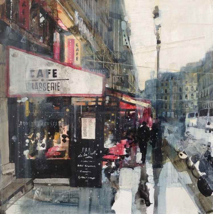 Cafe near Place de la Madeleine, 20.1.14 -