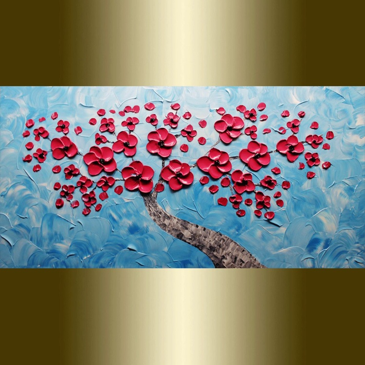Red flower Blooming. - Image 0