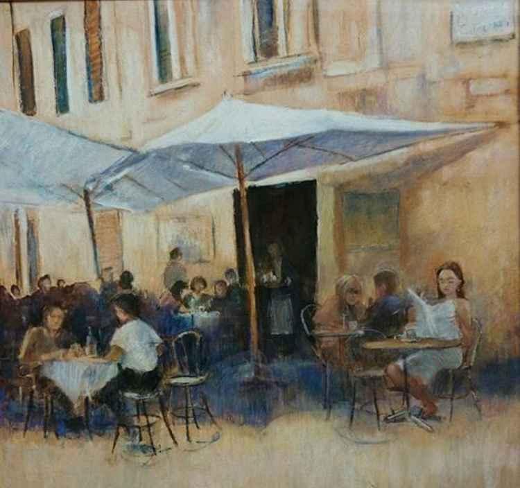 Cafe scene, Luca -