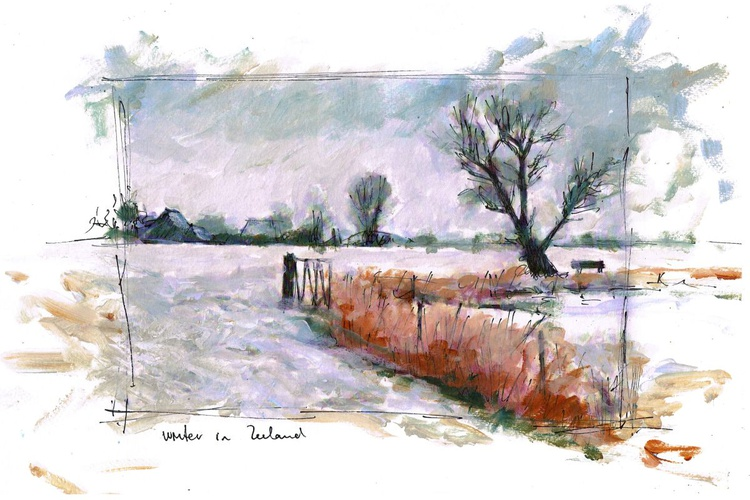 Daily winterscape till Christmas 6 - Image 0