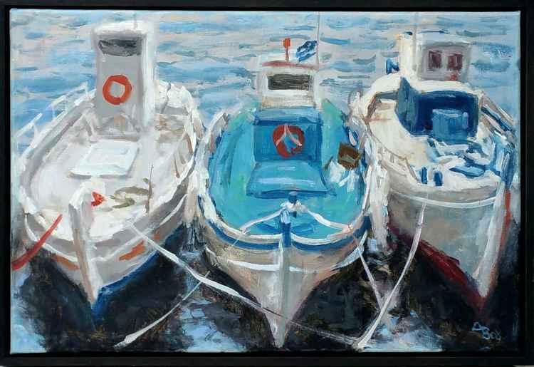 Three boats -