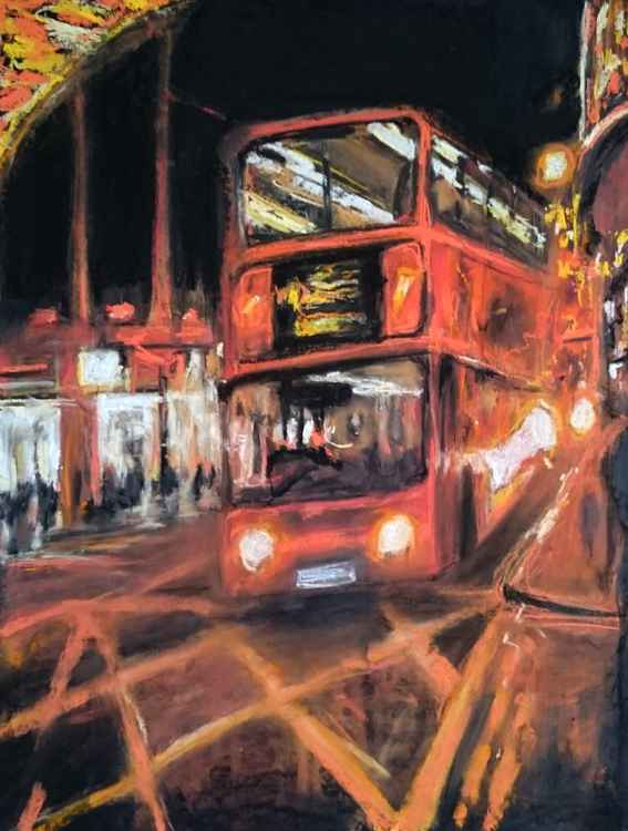 Buses At Oxford Street