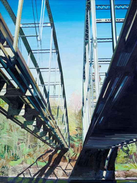 Lusted Road Bridge -