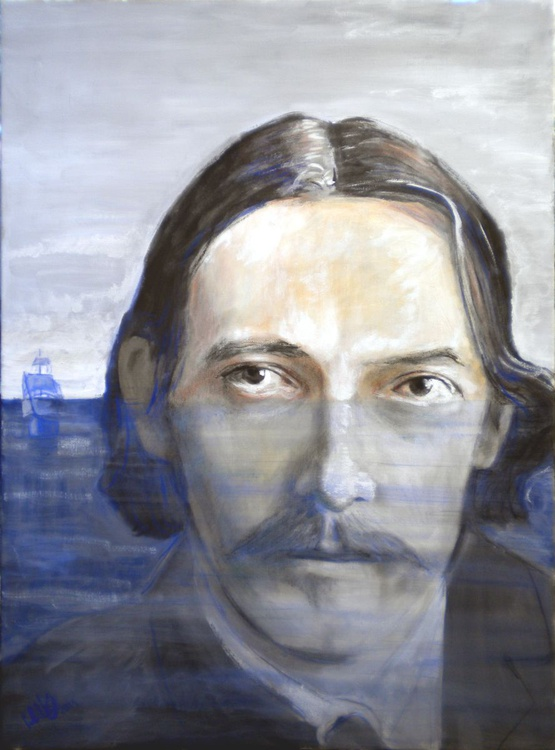 Portrait of Robert Louis Stevenson - Image 0
