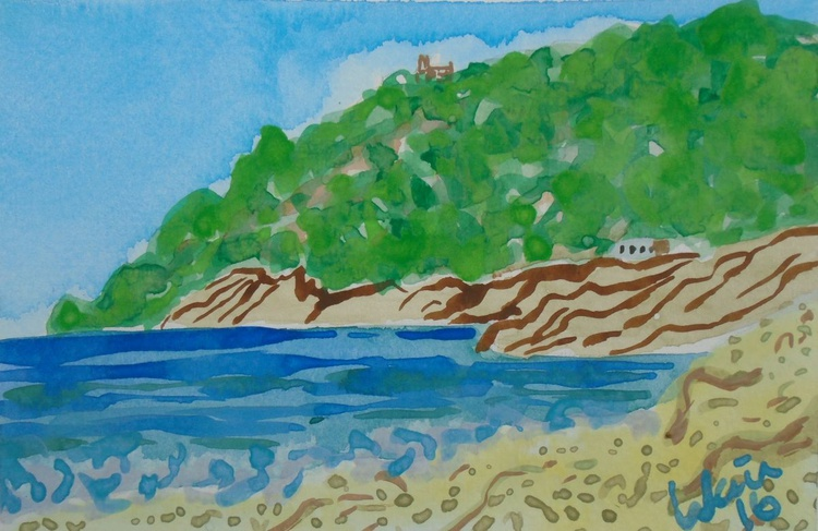 Albir beach with Serra Gelada view - Image 0